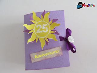 bomboniera per 25° anniversario di matrimonio