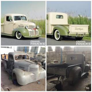 Dijual Bahan Truk Klasik Dodge Salon 1941