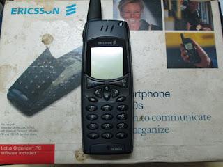 Ericsson R380s Rusak Untuk Kanibalan