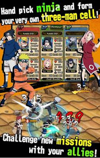 Download Ultimate Ninja Blazing Apk Game Naruto Shippuden Android Terbaik Populer Gratis Full DATA Offline