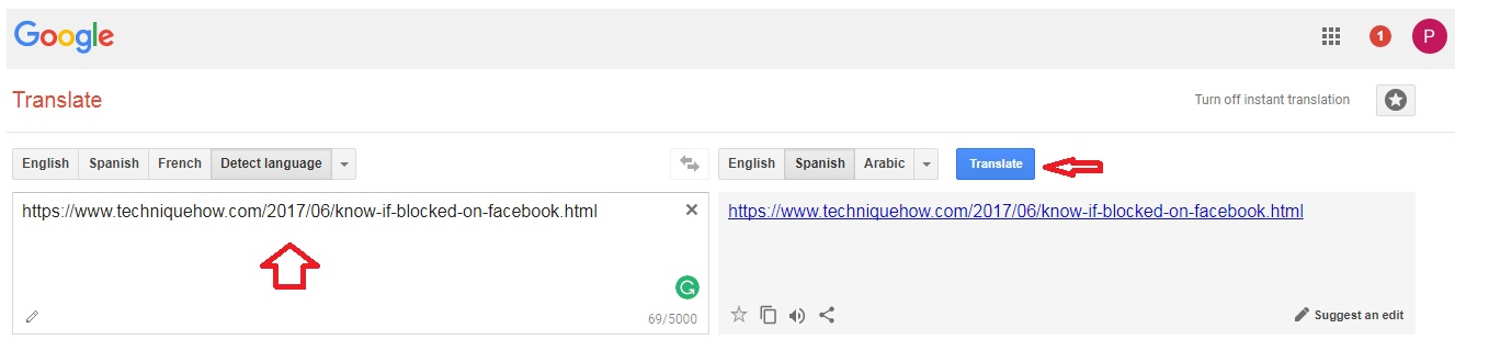 How to unblock restricted websites 100 access techniquehow use google translate ccuart Gallery