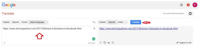 use google translate