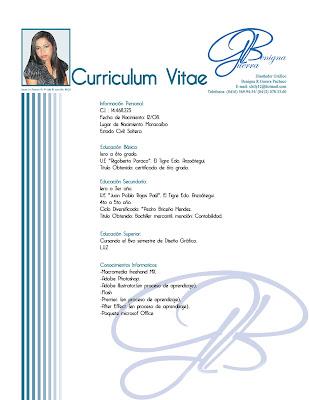 curriculum%2Bchily Datos En Un Curriculum Vitae on what is, ejemplos de, high school, formato de, resume or,