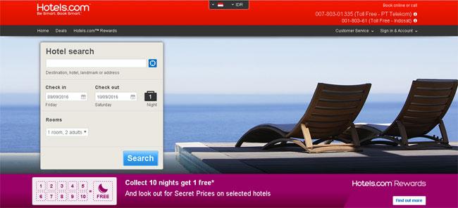 Review Booking Hotel Di Hotels.com