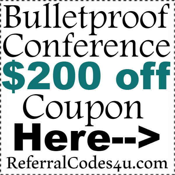 Bulletproof Conference Discount Coupon 2016-2017, Bulletproof Conference Promotions October, November, December