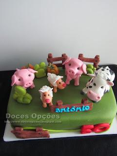 Os animais da quinta do António