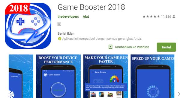 aplikasi memeprcepat game terbaru 2018