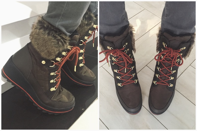 Guess Leland Lace-Up Boots