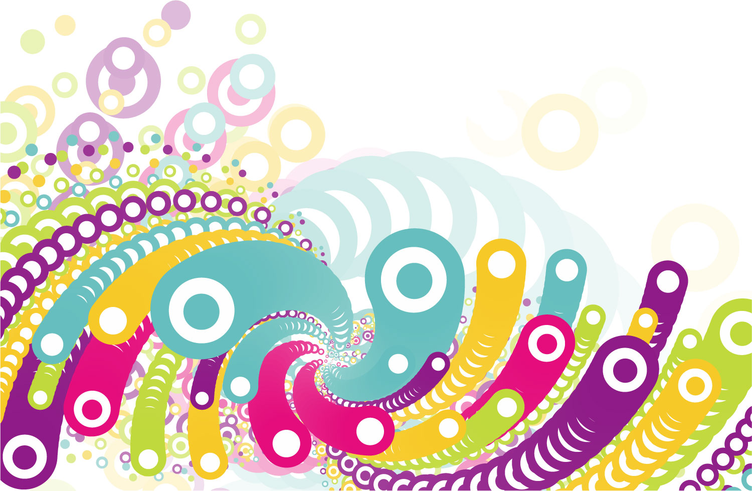 colorful circle vector graphic - photo #35