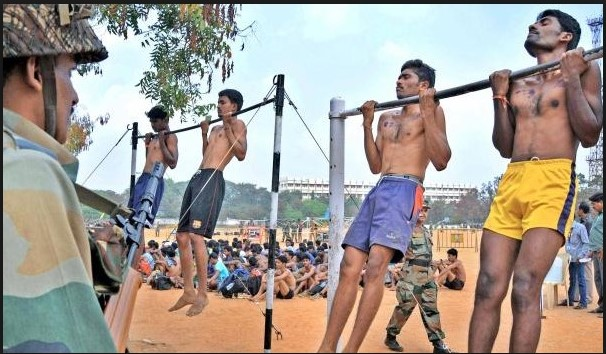 Majuli  Army Rally, Indian Army Rally, Open Bharti Rally