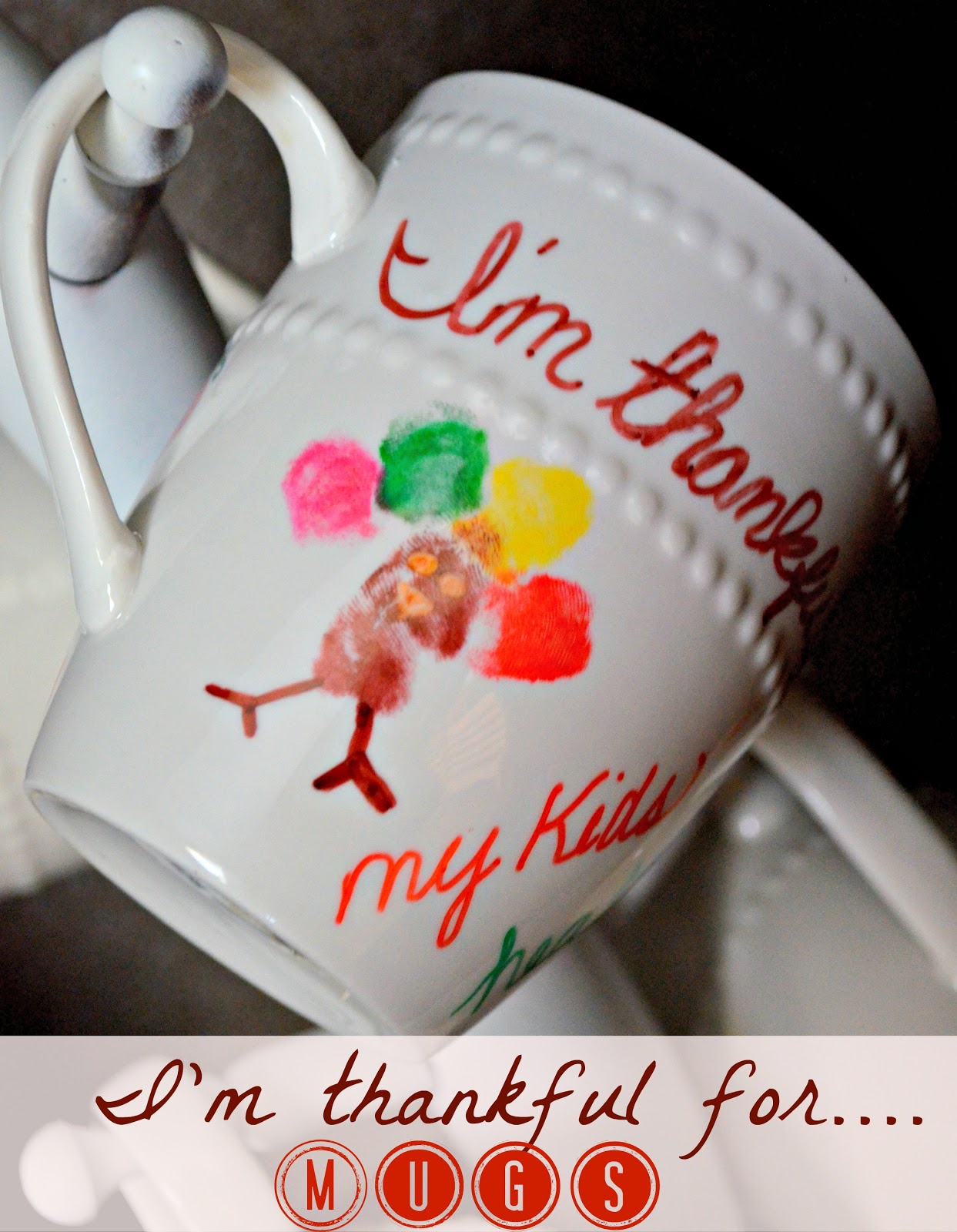 1 Store Mugs Amp Sharpies I M Thankful For Mugs