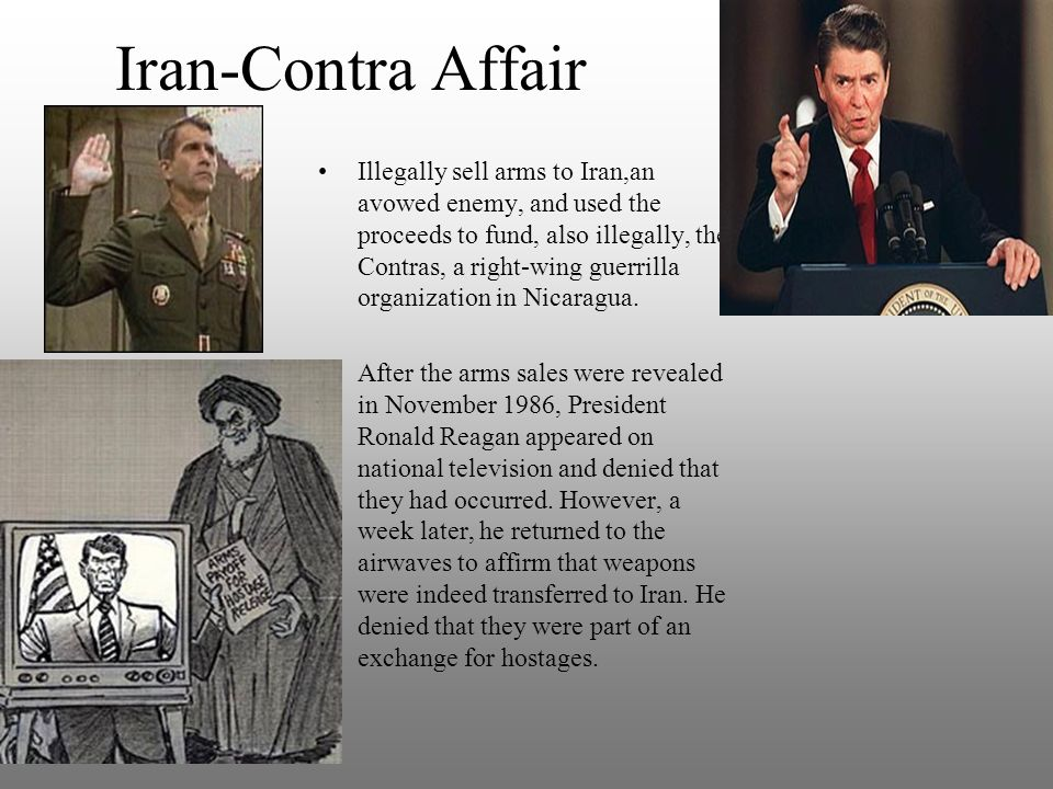a history of the iran contra affair two covert operations under ronald reagans administration Iran contra affair facts - 3: iran history: and the practice of covert operations in nicaragua involved a two-part plan by the reagan administration.