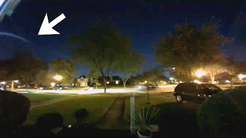 Warp Speed UFO Filmed In Fort Wayne?