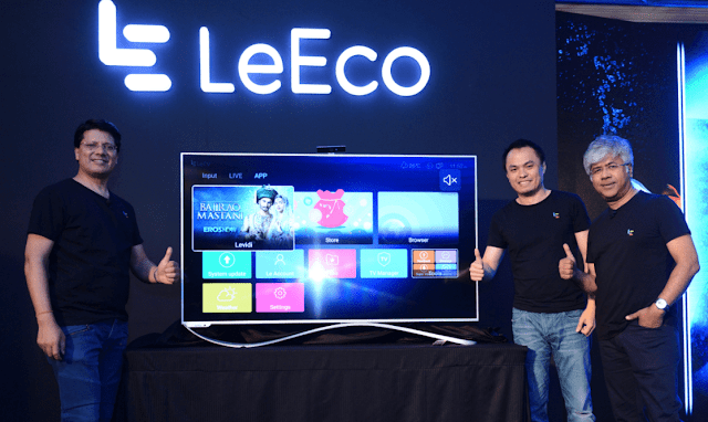 LeEco leads India into Ecosystem TV Era with the launch of its Super TVs