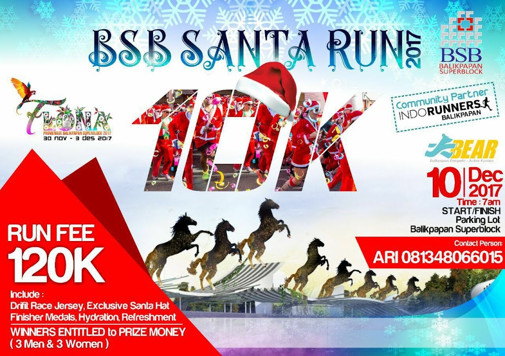 BSB Santa Run • 2017