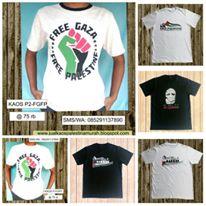 Vendor Kaos Palestina Murah
