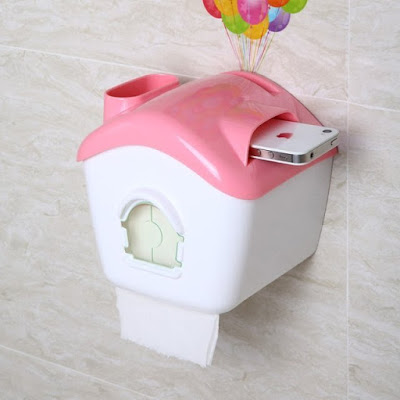 Up Balloons House Toilet Tissuepaper Box