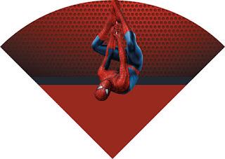 Conos=Cucuruchos de Spiderman.