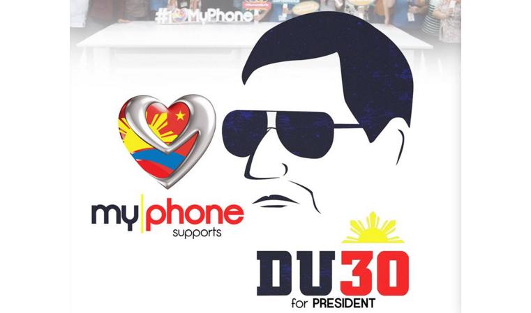 MyPhone Duterte