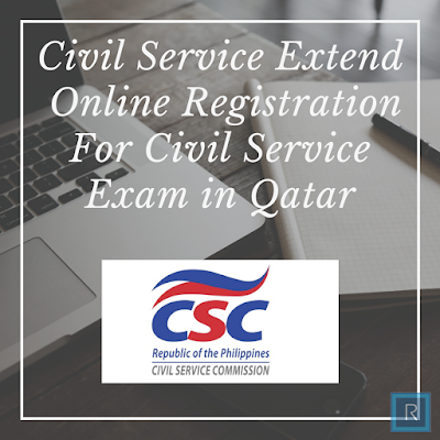 Civil Service Extend  Online Registration For Civil Service Exam in Qatar