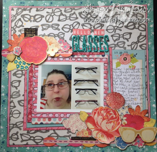 Scrapbook layout page day 1 shimelle laine the20project class starshine dear lizzy happy place sassafras foldies amy tangerine better together maggie holmes open book c'est la vie pink paislee