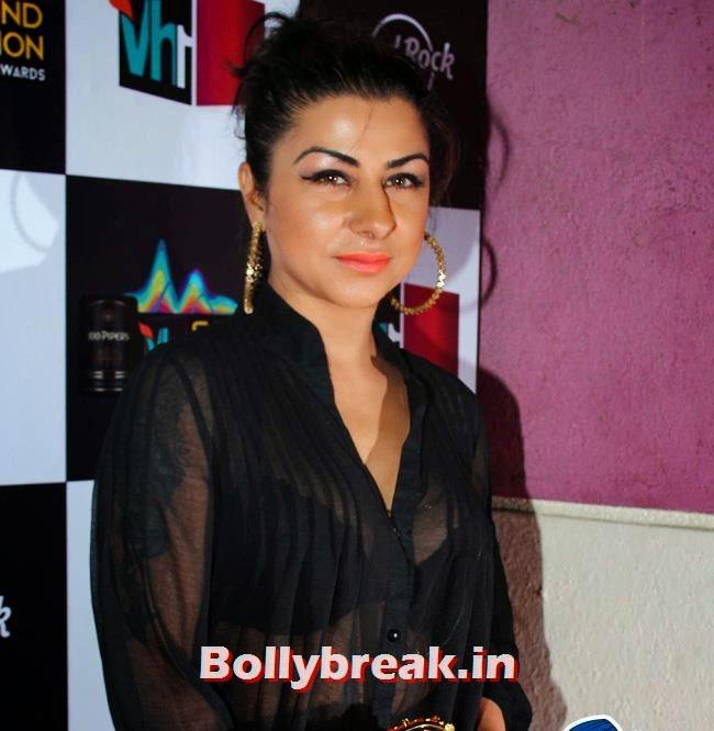 Hard Kaur, Pooja Misra, Carol Gracias at Indian Premiere Music Awards 2014