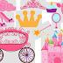 Pink Princess Clipart.