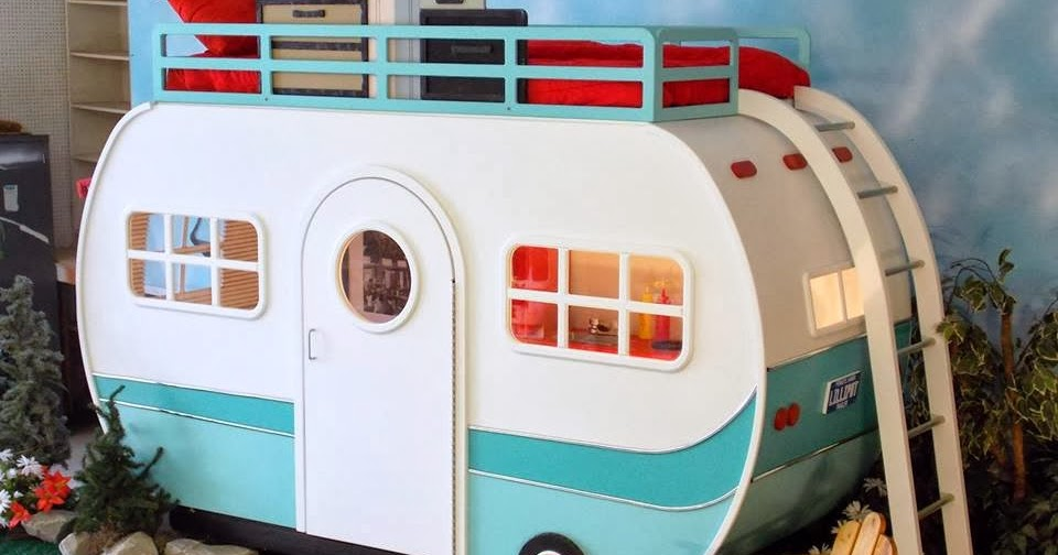 Retro Camper Indoor Playhouse Bed Lilliput Play Homes