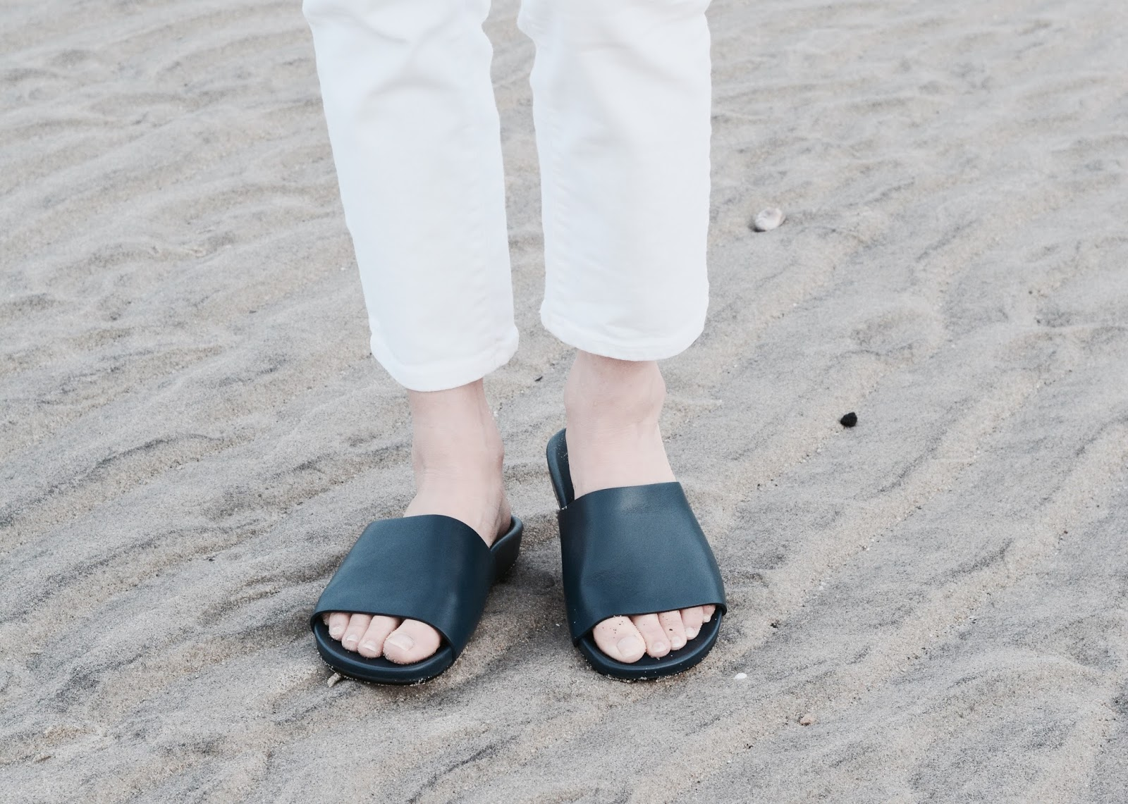Everlane Form Crossover Slide Sandals Review Photos