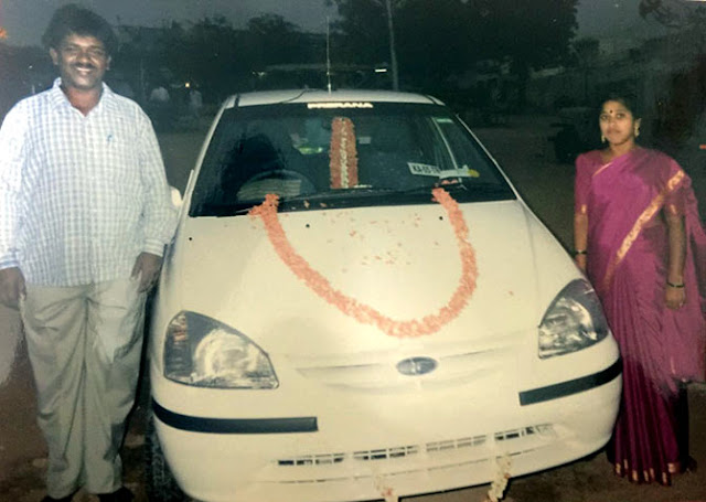 renuka aradhya first car