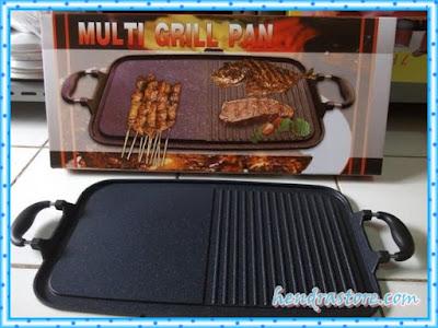 Jual Alat Panggang Multi Grill Pan Murah Tanpa Arang Praktis