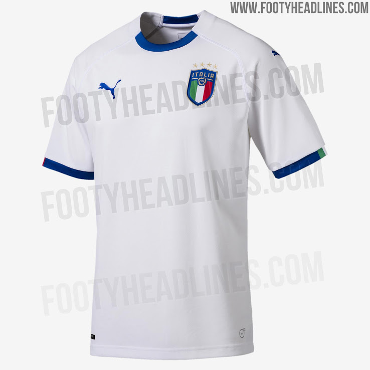 01a683548f9 This is the Puma Italy 2018 away shirt. +1. 2 of 2. 1 of 2