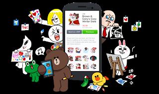 Cara mudah Membuat Sticker Android untuk di chatingan Line
