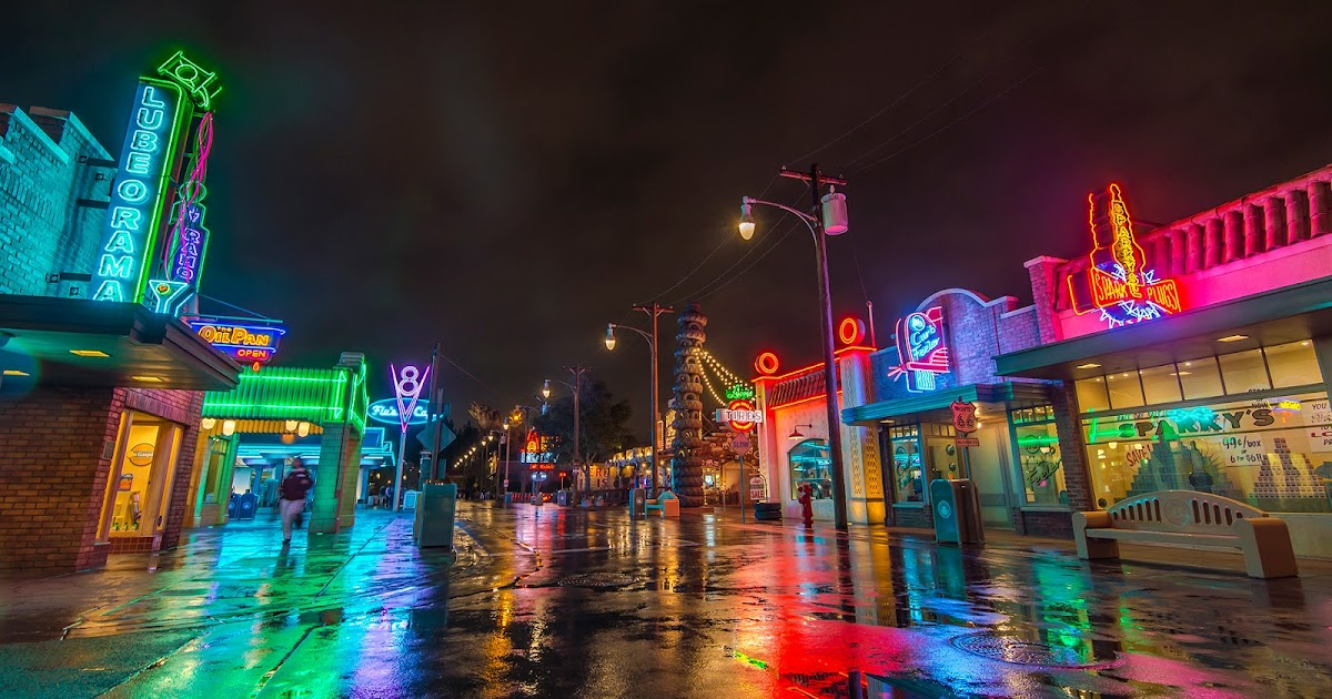 The Rainy Neon Night