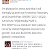 LOL!  See A Twitter User's Responds To President Buhari's Economic Recovery & Growth Plan