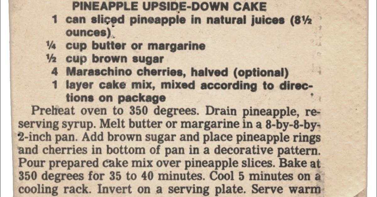 Bisquick Banana Upside Down Coffee Cake Recipe
