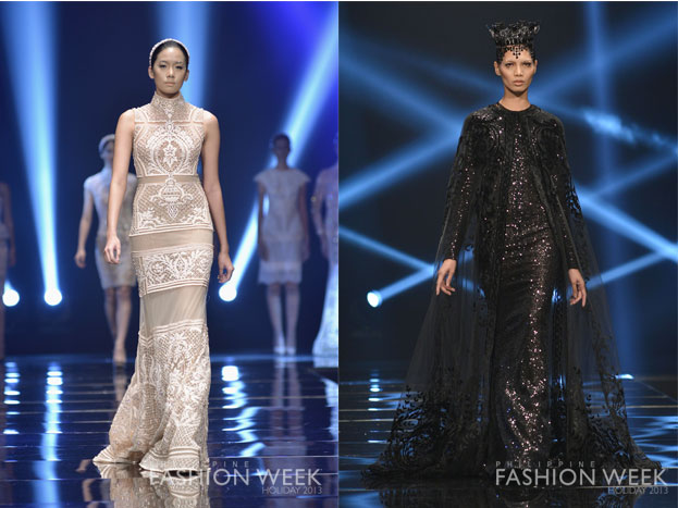 Monichic Philippine Fashion Week Holiday 2013 Day 1 Highlight Michael Cinco