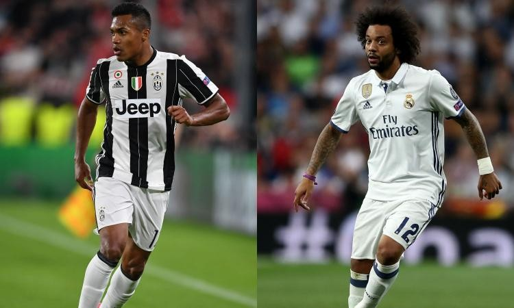 Real Madrid to swap Marcelo for Alex Sandro of Juventus