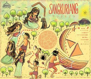 Cerita Sangkuriang, legenda tangkuban parahu
