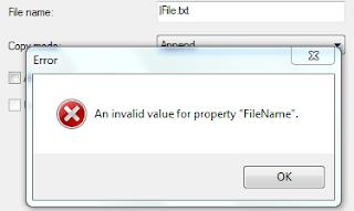 invalid property value 5