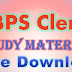 IBPS Clerk Study Material Free Download PDF 2017