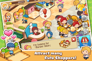 Game Happy Mall Story: Sim Game v1.6.5 Mod Unlimited Gems