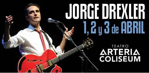 Concierto de Jorge Drexler en el Arteria Coliseum