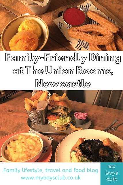 Family-Friendly Dining at The Union Rooms, Newcastle