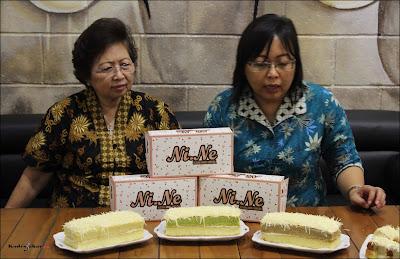 Soft opening Ni.Ne Cheese Cake Bandung