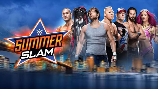 WWE Summer Slam 2017 Live Match Start Timing~US UK Canada Mexico Samoa India