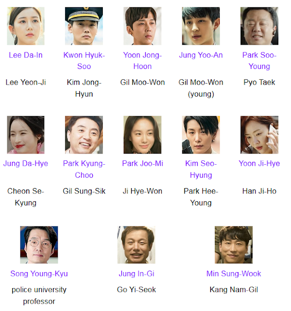 [K-Drama] Come and Hug Me Cast