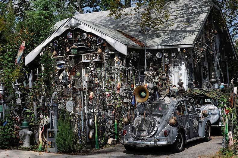 La bizarra casa de Clarke Bedford | Estados Unidos