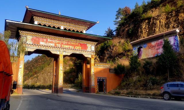Thimpu Gate