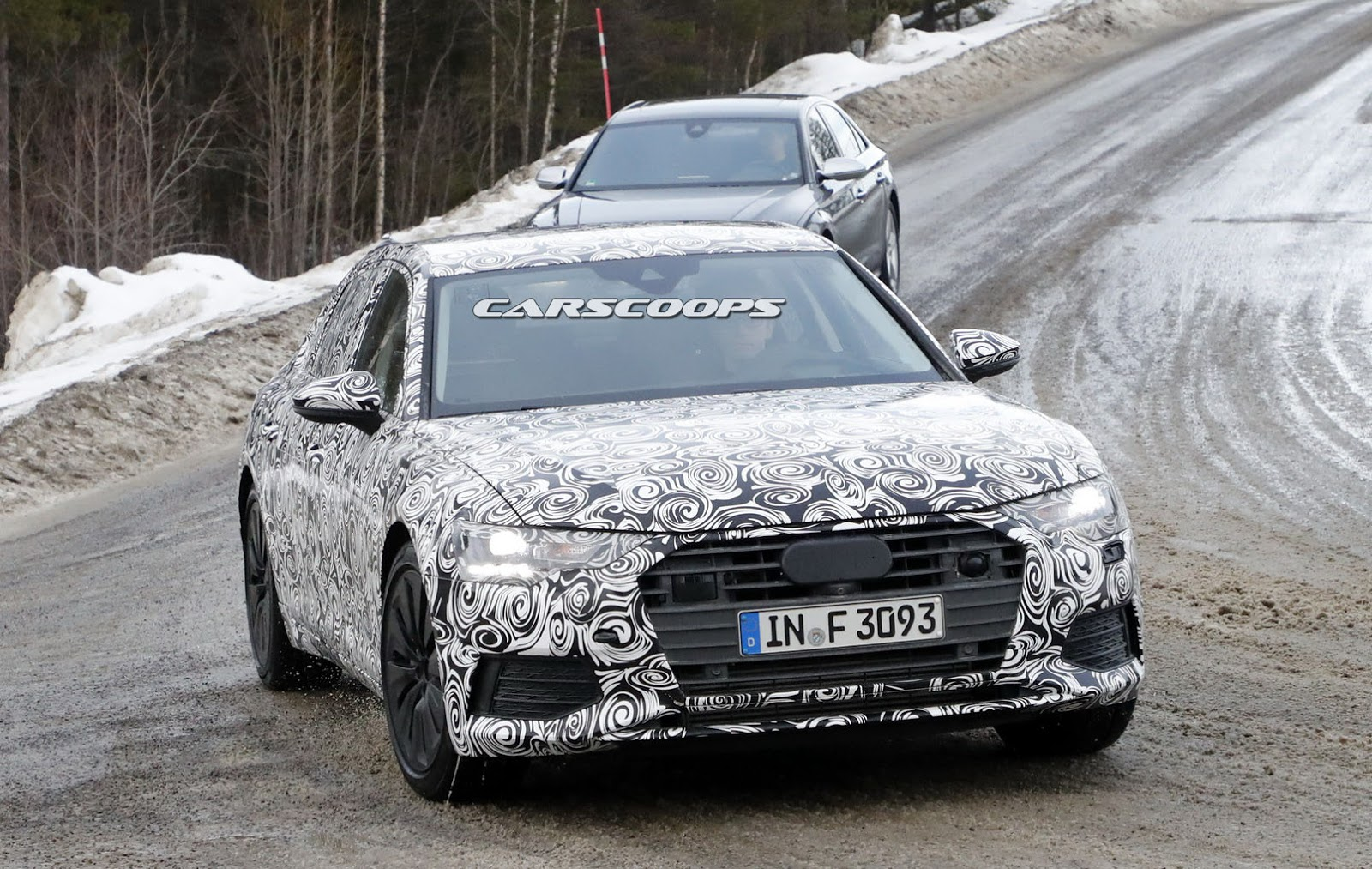 small resolution of 2019 audi a6 spy shot